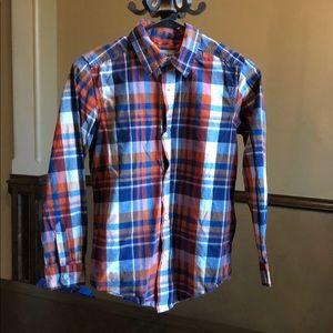 Children's Place button down shirt boys 10/12